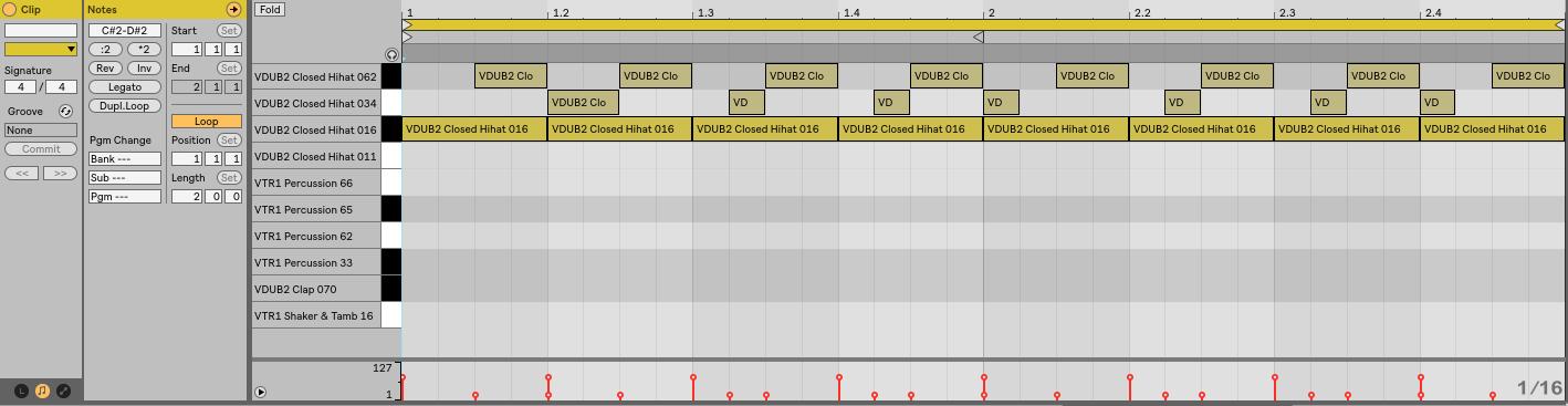 MIDI editor Live 10 | Beat Lab