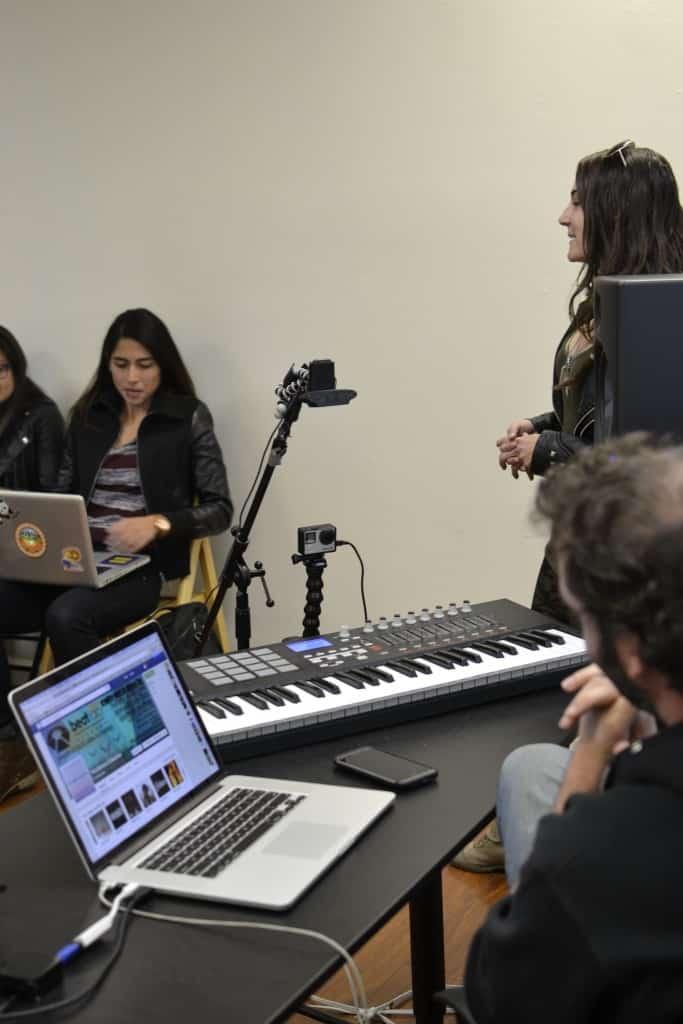 Beat Lab Academy Athena Collective Womens DJ/Producer Workshop 3/4/15