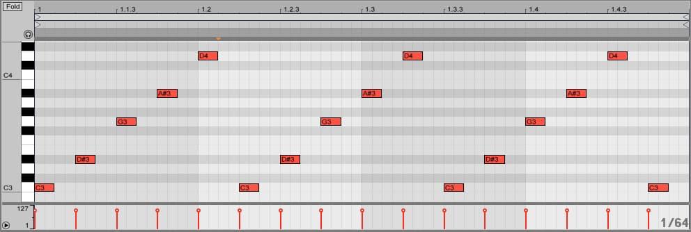 recorded arp