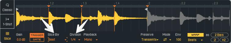 Beat Slicing Mode