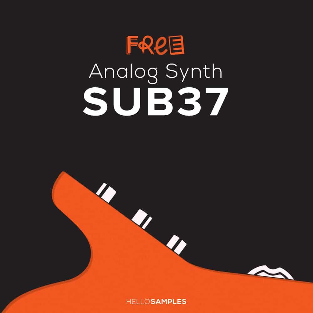 Hello Samples Moog SUB37 - 2GB of Analog Samples and