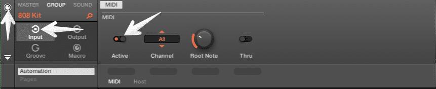 MIDI Routing Maschine