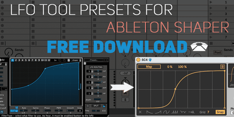 LFO Tool Presets for Ableton Shaper (Free Download) | Beat