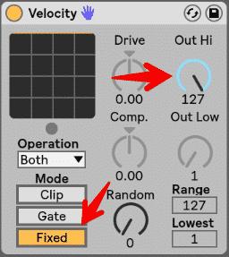 5 Velocity Techniques + Velocity MIDI Effect Cheat Sheet