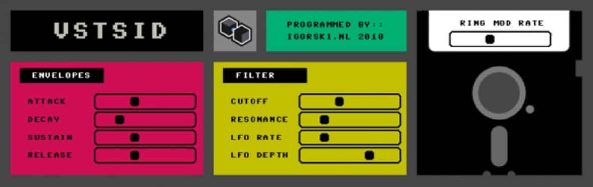 VSTSID - FREE Commodore 64 Synth | Beat Lab