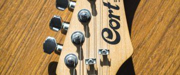 electric guitar head