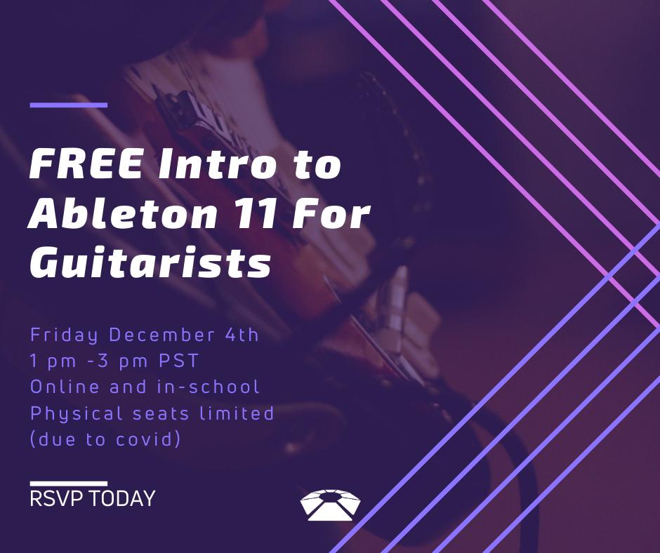 Live 11 Guitarists Workshop