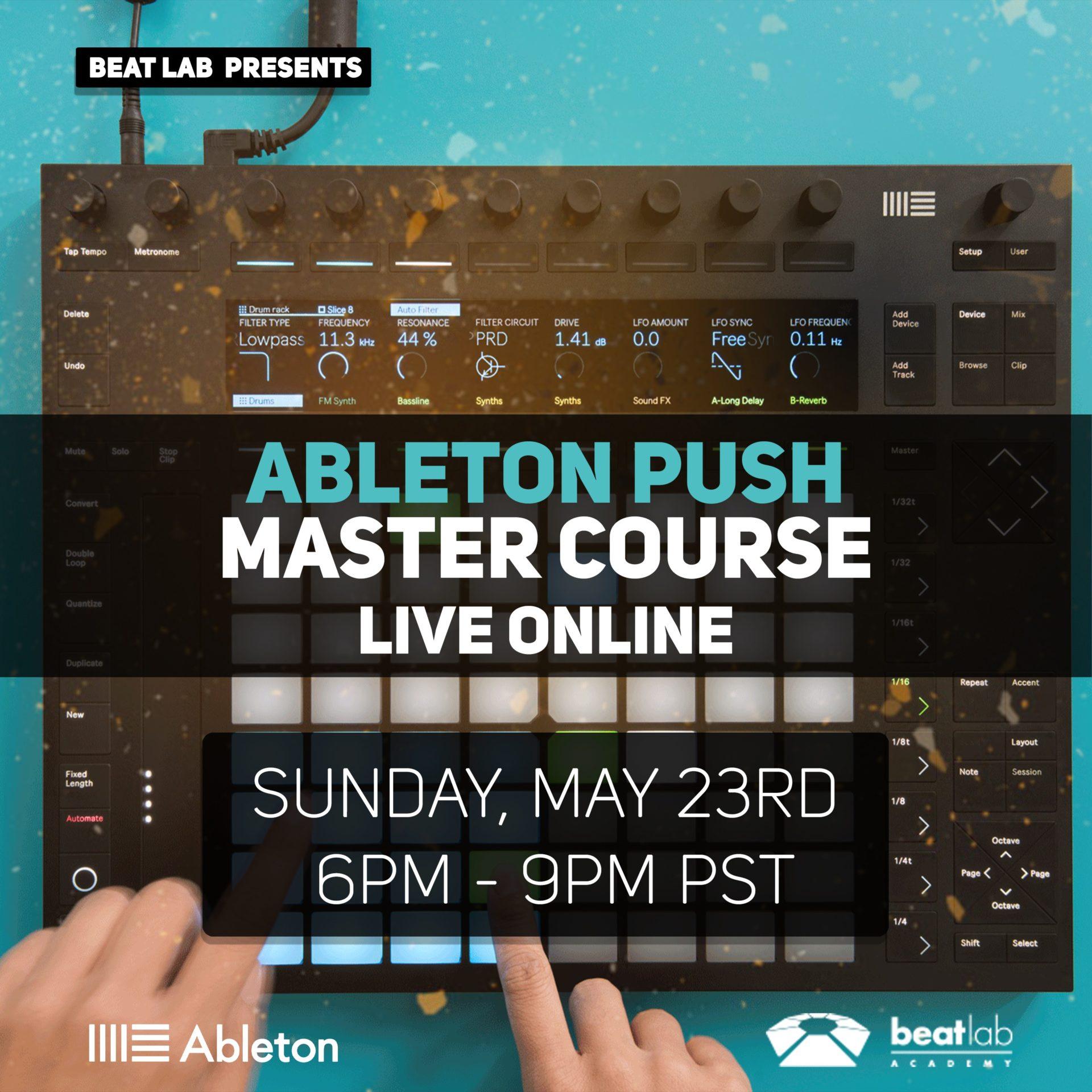 Ableton PUSH Live Online